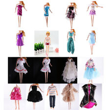 Fashion Doll Dress Grown Clothes Shirt Skirt Outfit for Barbie Doll Liv Doll