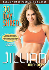 Jillian Michaels: 30 Day Shred (DVD, 2008)