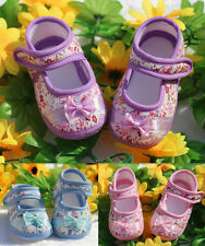 Soft Sole PU Leather Baby Crib 0-18M Flower 2016 Shoes Toddler Infant Dot Shoes