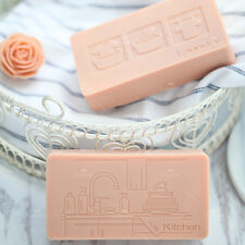 DIY Laundry Kitchen Silicone Soap Mold Craft Soap Making Mould Handmade Mold