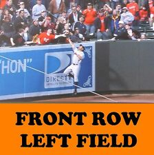 4 Front Row Seats Baltimore Orioles Tickets vs. Anaheim Angels 8/18/17