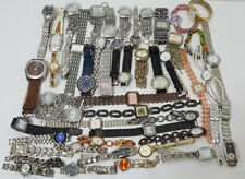 LOT OF 19 Mini Clock & 50 Mix Brands WATCHES For Repair / Parts - FREE SHIPPING