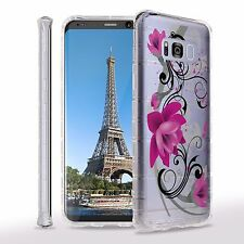 For Galaxy S8, S8+ AIR Bumper IMAGE Cushion Shock Proof Protector Slim Case