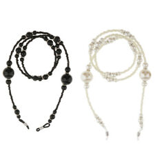 Eyeglass Holder Necklace Sunglass Eye Glass Neck Strap Chain Lanyard with Pearl