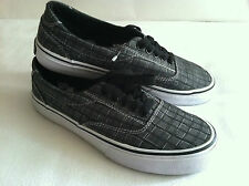 Men Tony Hawk Skate Shoes Gray Bold Plaid Sz.7.5 New $54 Manmade upper