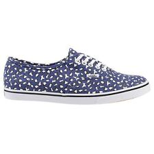 Vans Classic Authentic Lo Pro Navy White Womens Trainers
