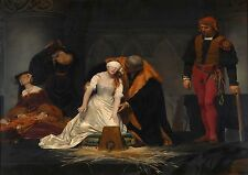 Paul Delaroche: The Execution of Lady Jane Grey. Print/Poster
