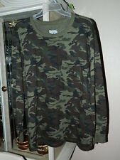 Open Trails Youth Boys  XL 16/18 Camouflage Long Sleeve Shirt