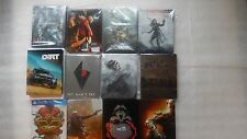 PS4 Steelbook,Uncharted 4,No Man's Sky,WWE 2K17,PlayStation 20th Anniversary PS4