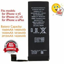 Pro 1560mAh Li-ion Battery Replacement with Cable for iPhone 5S/5C/6/6plus BG