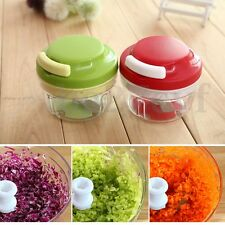 Speedy Chopper Fruit Vegetable Food Crusher Onion Piral Slicer Dicer Cutter Tool