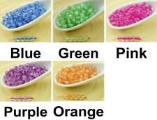 100pcs Crystal Lined Round Druk Pressed Czech Glass Beads Small Spacer 4mm
