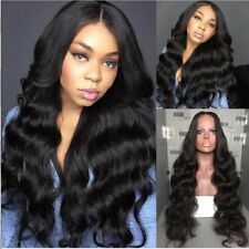 Unprocessed Full Lace Human Hair Wig Body Wave Lace Front Wig Natural Hairline