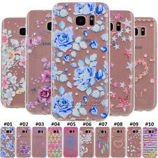 Clear Silicone Slim Protective Back Soft TPU Case Cover For Samsung Galaxy Phone
