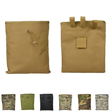 Big Airsoft Molle Tactical Hunting Magazine Mag DUMP Drop Ammo Utility Pouch SUH