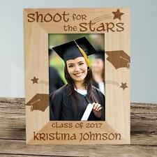 Personalized Graduation Picture Frame Engraved Shoot For The Stars Photo Frame