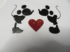 Mouse Kiss T-shirts in Ladys / Unisex Fruit of Loom