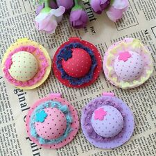 10pcs/lot Kids girls baby toddler Hair Bow with clips Cute hat hairpins Barrette