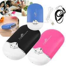 Rechargeable Portable Mini Handheld Air Conditioning Cooling Fan USB Hot Lot BA