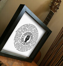 NORTHERN SOUL VINYL RECORD Framed Print - 7 inch single - Any Song inc Rare