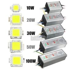 10W/20W/30W/50W/100W High Power Waterproof LED SMD Chip Bulb+LED Driver Suppl BE