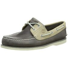 Timberland Men Casual Shoes Classic Two-eye Boat Shoe Grey