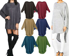 Women's baggy long batwing top oversized casual wear long top 8-26 PLUS SIZE