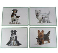 Pet Dog Place Mat Collectable 4 Choices Collie Jack Russell Westie Terrier 29cm