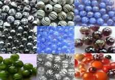 Lampwork Glass - Round Beads - Your Choice of Colour & Size - 10 beads for sale