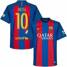 New Barcelona Home Lionel Messi Soccer Jersey football Shirt