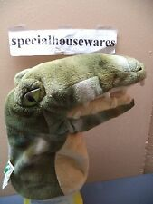 "9"" Soft Hand Puppet: T Rex, Lion or Winnie the Pooh VGC Theater, Library, etc"