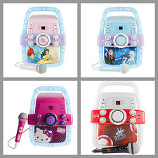 Kids Karaoke Machine System w/ Microphone Portable CD Music Player