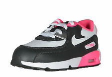 Nike Air Max 90 Leather (TD) Girl's Toddlers (Baby / Infant) Shoes 833379-003