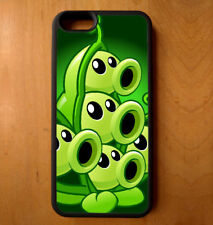 Green Plants Zombies Phone Case Galaxy S 7 Note Edge iPhone 4 5 6 7 Plus + LG G3