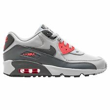 Nike Air Max 90 Pure Platinum Cool Grey Girl Youth Trainers