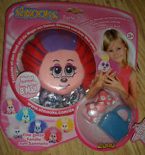FROM ZURU SHNOOKS NANNINOOPY SOFT PLUSH TOY COMES WITH BAG & BOW AGE 3 YRS + NEW