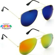Sunglasses KISS POLARIZED AVIATOR man woman LENSES FIRE Retro Original