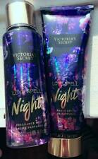 LAST ONE NWT Love Spell Night SET OF VICTORIAS SECRET FRAGRANCE BODY MIST&LOTION