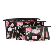 Durable Women's Makeup Bag Travel Comestic Case Purse Bag Holder Kit Set