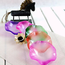 1pcs Home Decoration Glass Dish Holder For Fragrance Diffuser Aroma Lamp Oil BG