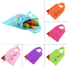 1 pc Strawberry Foldable Shopping Bag Tote Reusable Eco Friendly Grocery Bag BA