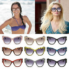 New Stylish Womens Ladies Fashion Vintage Cat-Eye Big Frame Sunglasses BG