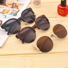 NEW Retro Lens Vintage Men Women Round Frame Sunglasses Glasses Eyewear BA