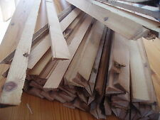 Reclaimed Pine Slivers Floorboard Filler 100 Pieces 1 Metre Long