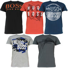New Nwt Hugo Boss Mens Crew Neck Short Sleeve Cotton T Shirts