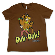 Officially Licensed Scooby Doo- Scooby Doo Ruh-Ruh Kids T-Shirt Age 3-12 Years