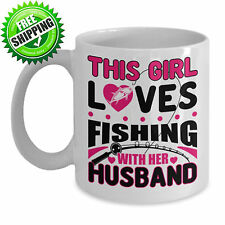 Fly Trout Bass Fishing Fisherman Fish Ceramic Coffee Mug Tea Cup Gift Kitchen