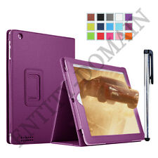 Slim and Smart Flip Folio PU Leather Stand Case Cover For iPad 2 iPad 3 & iPad 4