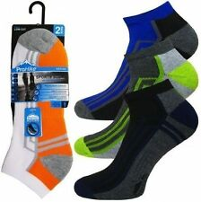 12 PAIRS MENS TRAINER SOCKS SPORTS ANKLE CUSHIONED SOLE TOE HEEL SIZE 6 - 11