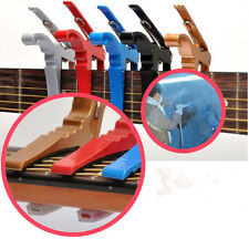 Quick Change Key Trigger Acoustic Electric Folk Guitar Tune Capo Clamp zp